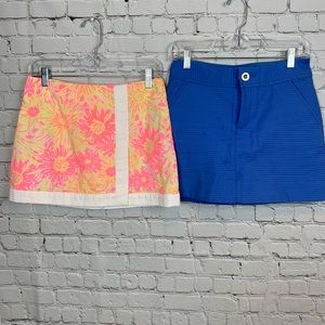 Lilly Pulitzer Lot of 2 Skirts